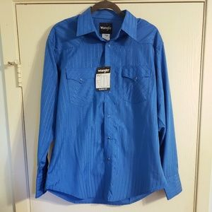 Wrangler Western Long Sleeve Shirt